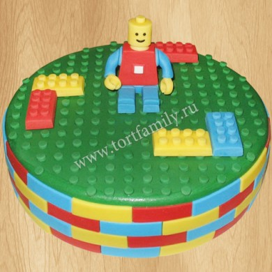 Торт Лего на день рождения