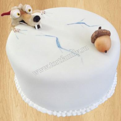 Торт Белка из Ледникового периода