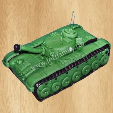 Торт танк на 9 мая