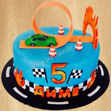 Торт на день рождения 5 лет мальчику