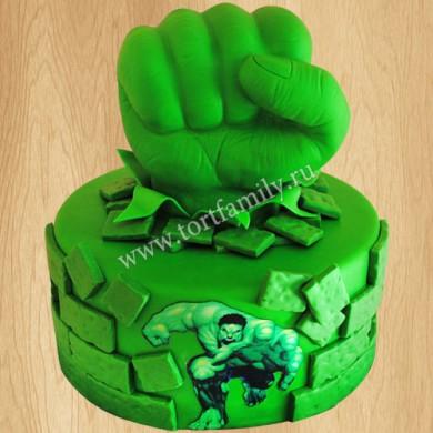 Торт кулак Халка