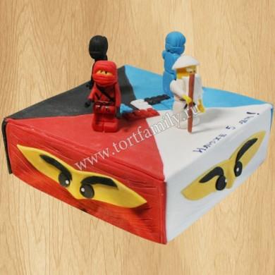 Торт Лего супергерои