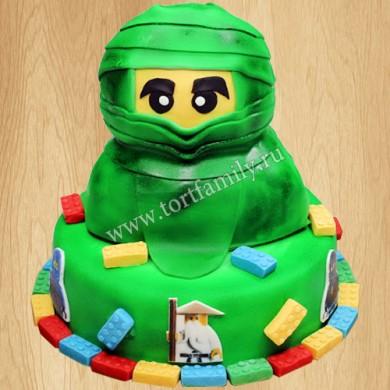 Торт Зелёный ниндзя