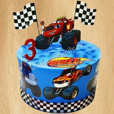 Торт для мальчика Вспыш