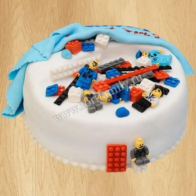 Детский торт Лего