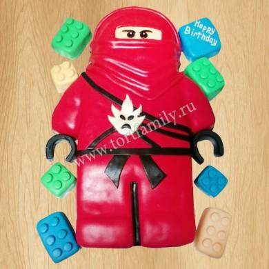 Торт Лего Ninja go