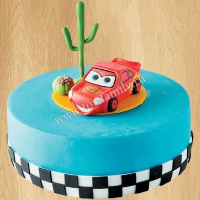 Торт в виде Маквина