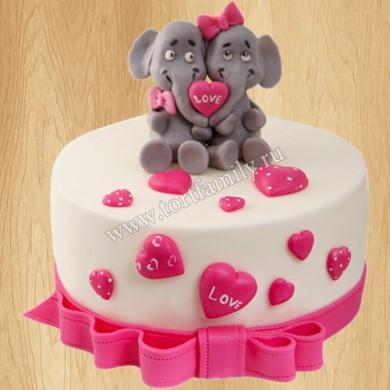 Торт для двойняшек взрослых