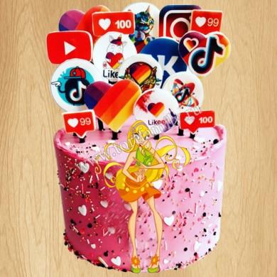 Торт Стелла Винкс