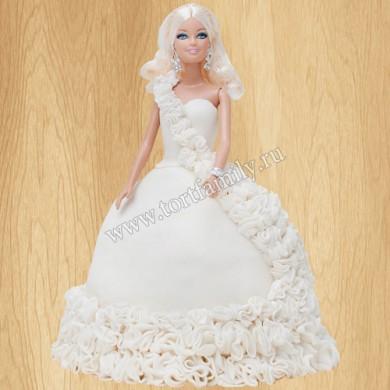 Торт для девочки Барби