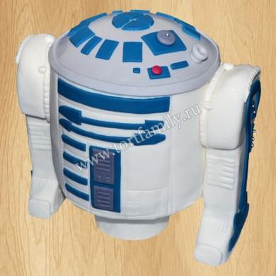 Торт R2-D2