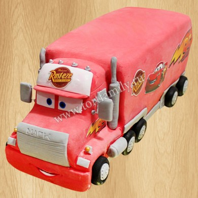 Торт грузовик Мак