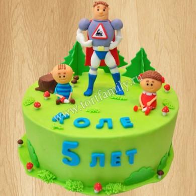 Торт на день рождения 5 лет