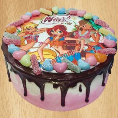 Торт Winx