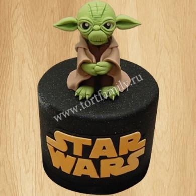 Торт Мастер Йода из Звездных войн