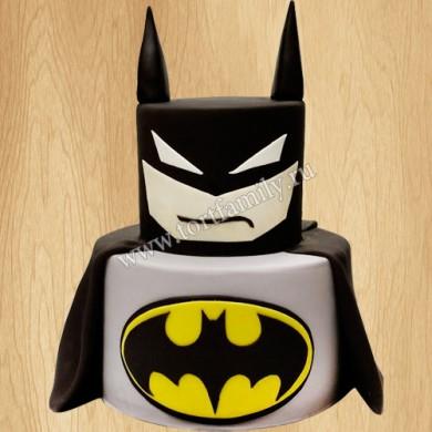 Торт на день рождения Бэтмен