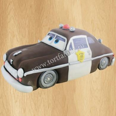 Торт машина Шериф