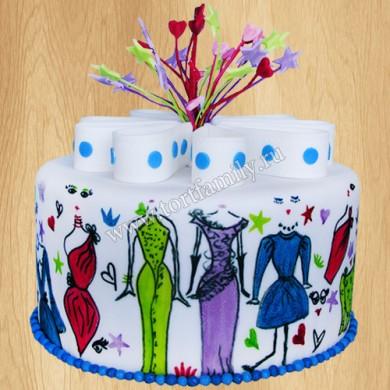 Торт №: D172