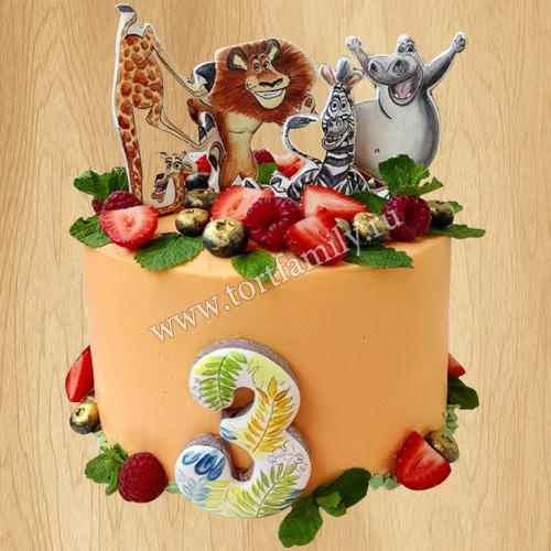 Торт животные из Мадагаскар