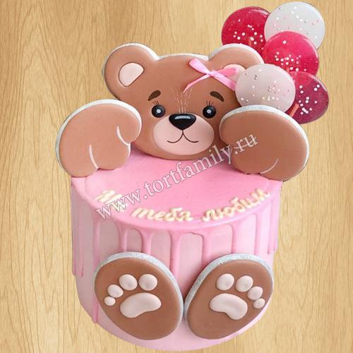 Торт на 3 года двойняшкам