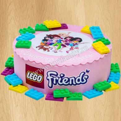 Торт Лего Френдс