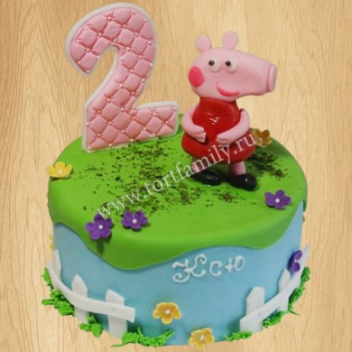 Торт дочке на 2 года
