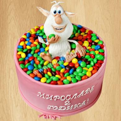 Торт ммдемс для девочки