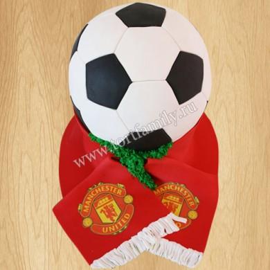 Торт для болельщика Манчестер Юнайтед