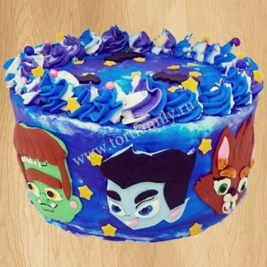 Торт с супер Монстрами