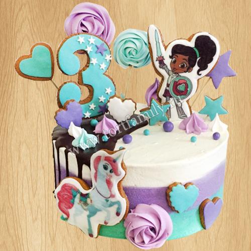 Картинки для торта принцесса нелла