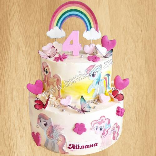 Торт Замок для пони