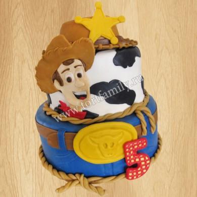 Торт для мальчика на 5 лет
