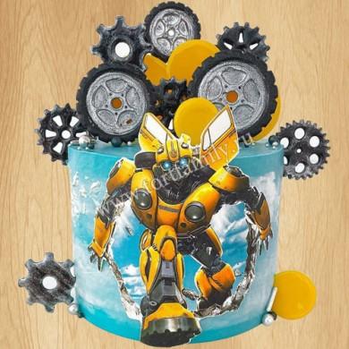 Торт трансформеры для мальчиков