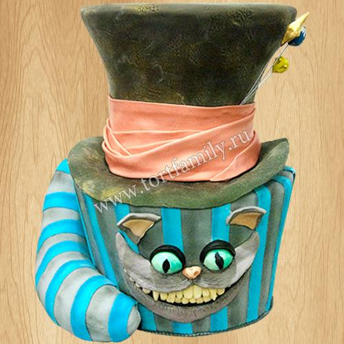 Торт шляпа Шляпника