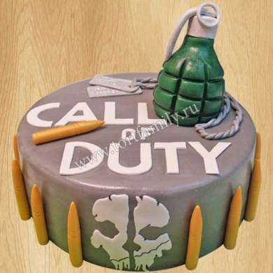 Торт Call of Duty mobile