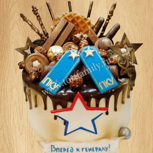 Торт на День кадета