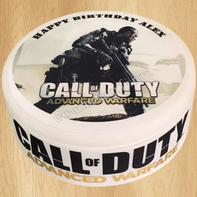 Торт по игре Call of Duty