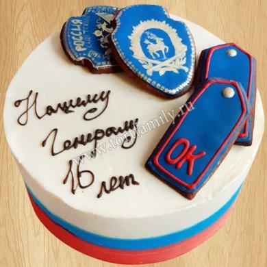 Торт кадету на день рождения