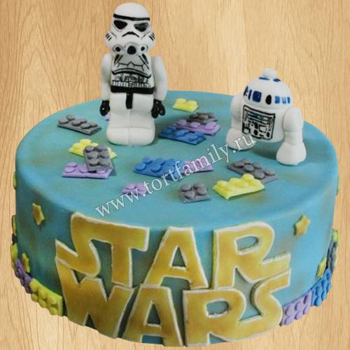 Торт по фильму «Звёздные войны»