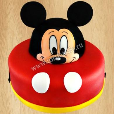 Торт Микки Маус для мальчика