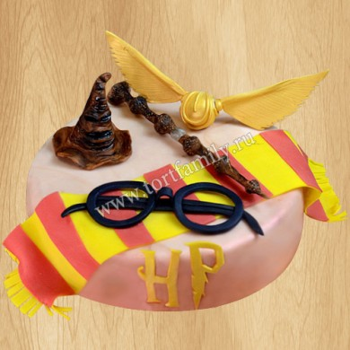 Торт для девочки Гарри Поттер