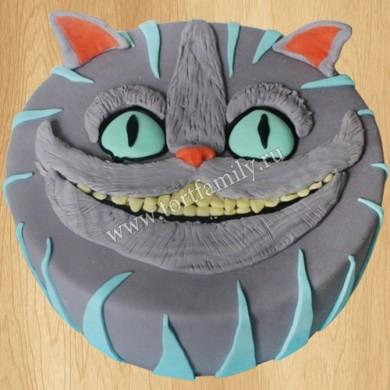 Торт голова Чеширского кота