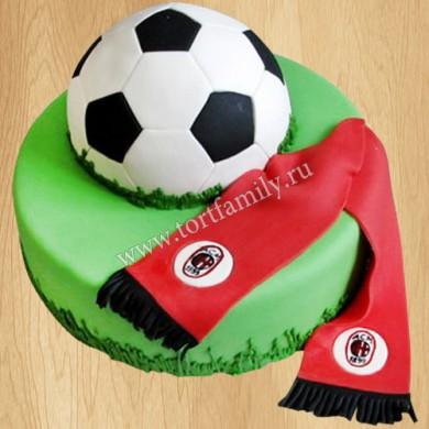 Торт с символикой Милана