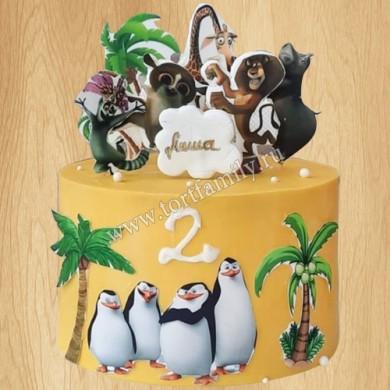 Детский торт на 3 года
