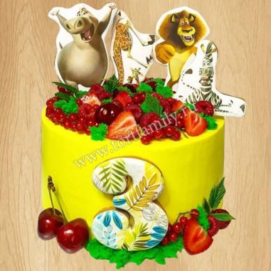 Торт сыну на 2 года