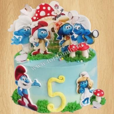 Торт №: D490