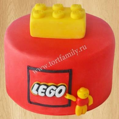 Торт Лего на 8 лет