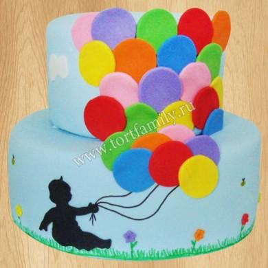 Торт №: D493