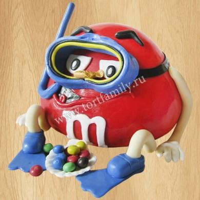 Торт M&M's