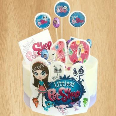 Торт на день рождения девочке 9 лет
